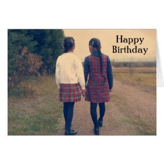 Happy Birthday - Retro IV Card