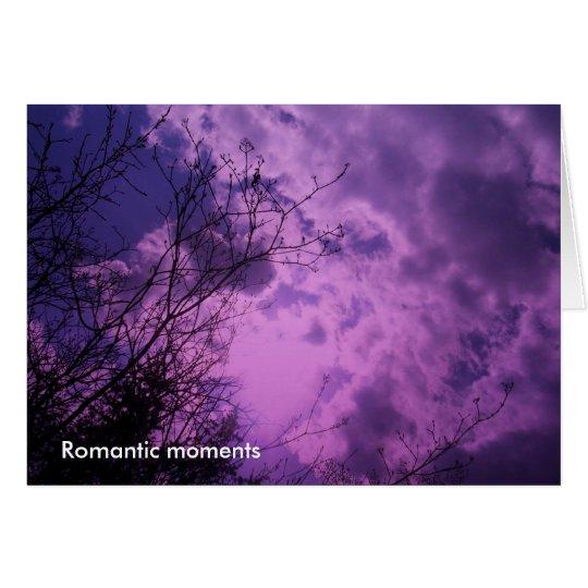 Happy Birthday - Romantic moments Card
