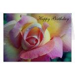Happy Birthday Rose Cards