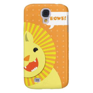 Happy Birthday Rowr Lion Galaxy S4 Covers