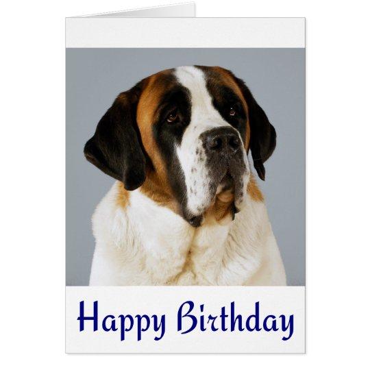 St Birthday Cake Card