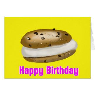 happy birthday sandwich greeting card