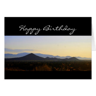 Happy Birthday Santa Fe Hills Card
