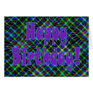 Happy Birthday! Say It With Flair! Greeting Card