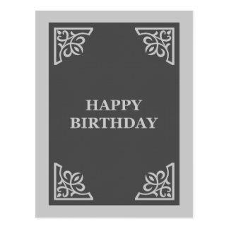 happy birthday (scrapbook) postcard