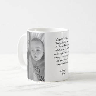 Happy Birthday Script Photo Baby Mum Birthday Gift Coffee Mug
