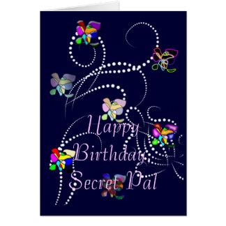 happy birthday secret pal card