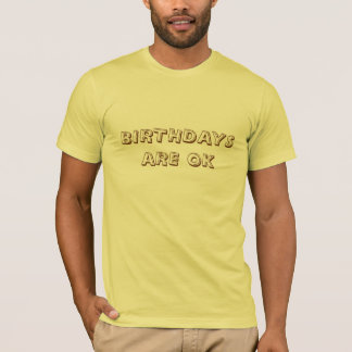 HAPPY BIRTHDAY SHIRT FOR MEN