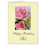 Happy Birthday Sis / honey/ babe ... Card