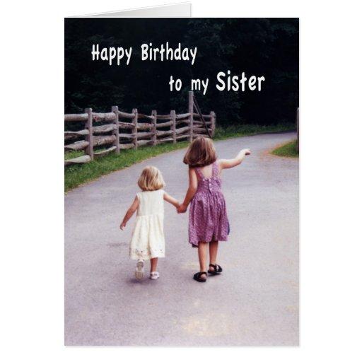 Happy Birthday Sister Greeting Card | Zazzle
