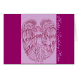 Happy Birthday Sister Stationery Note Card