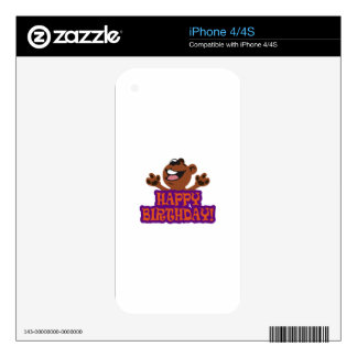 Happy Birthday Decal For iPhone 4