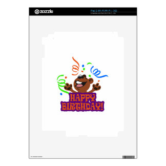Happy Birthday Decals For iPad 2