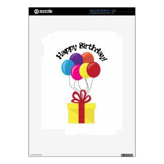 Happy Birthday! iPad 2 Skin