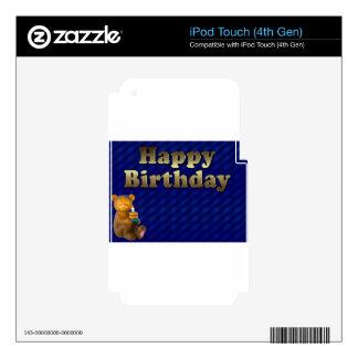 happy-birthday skins for iPod touch 4G