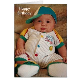 Happy Birthday, Slugger Stationery Note Card