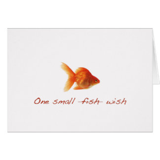 Happy Birthday Small Fish Card