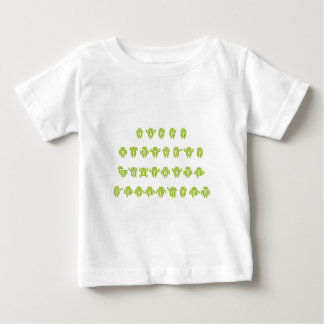 Happy Birthday Software Developer (Bugdroid) Baby T-Shirt