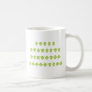 Happy Birthday Software Developer (Bugdroid) Coffee Mug