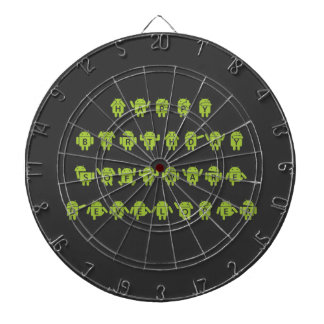 Happy Birthday Software Developer (Bugdroid) Dart Board