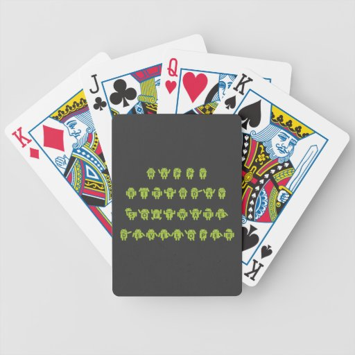 Happy Birthday Software Developer (Bugdroid) Deck Of Cards