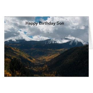 Happy Birthday son Card