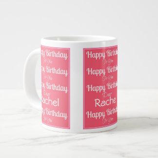 Happy Birthday Song Jumbo Mug