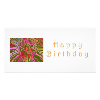 Happy Birthday Spider Web Card