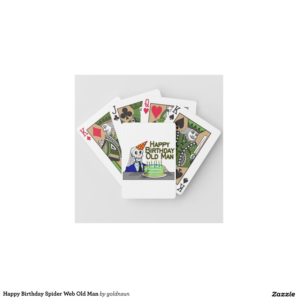 Happy Birthday Poker Cards Savage Time Slot