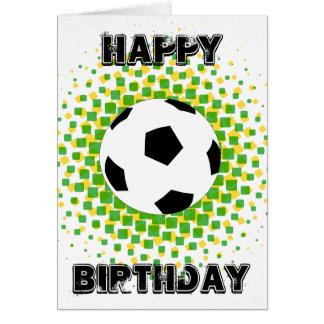 Happy Birthday Sports Fan! Greeting Card