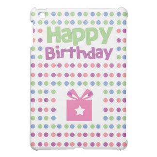 Happy Birthday spotty card iPad Mini Case
