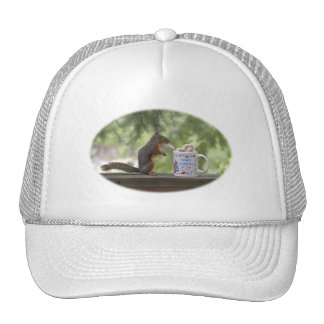 Happy Birthday Squirrel Trucker Hat