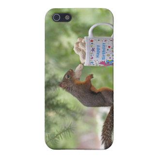 Happy Birthday Squirrel iPhone SE/5/5s Cover