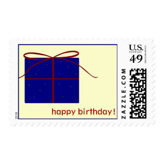 """happy birthday!"" stamp"