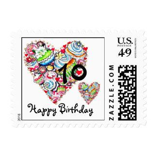 Happy Birthday Stamp