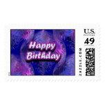 Happy Birthday Stamps
