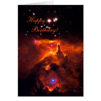 Happy Birthday - Star Cluster Pismis 24 Greeting Card