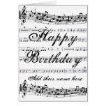 Happy Birthday__ Stationery Note Card