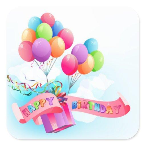 Happy Birthday Sticker Zazzle