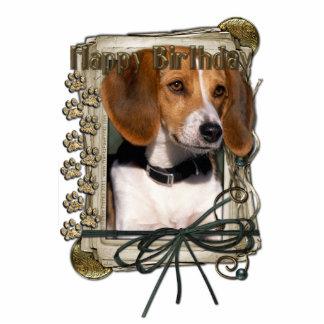 Happy Birthday - Stone Paws - Beagle Statuette