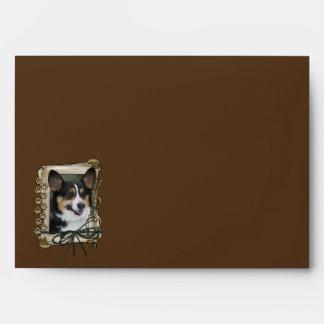 Happy Birthday - Stone Paws - Corgi Envelope