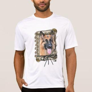 Happy Birthday - Stone Paws German Shepherd Chance Shirt