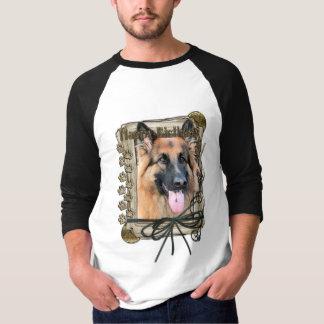 Happy Birthday - Stone Paws German Shepherd Chance Shirts