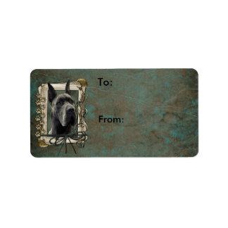 Happy Birthday - Stone Paws - Great Dane - Grey Label
