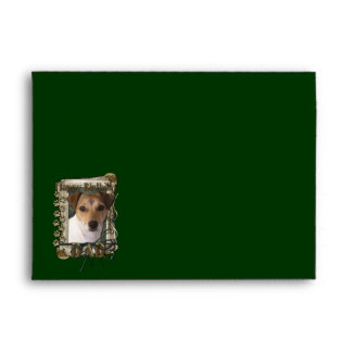 Happy Birthday - Stone Paws - Jack Russell - Dad Envelope