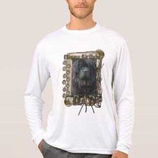 Happy Birthday - Stone Paws - Newfoundland - Dad T-shirts