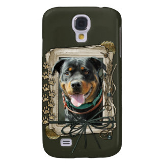 Happy Birthday - Stone Paws -Rottweiler SambaParTi Galaxy S4 Case