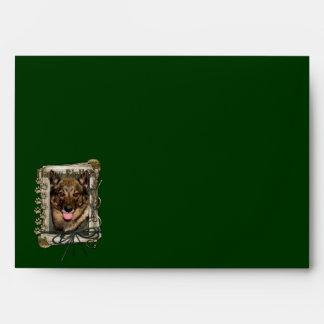 Happy Birthday - Stone Paws - Vallhund Envelope