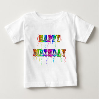 Happy Birthday Streamers T-Shirt