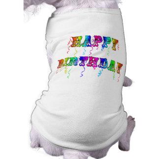 Happy Birthday Streamers T-Shirt
